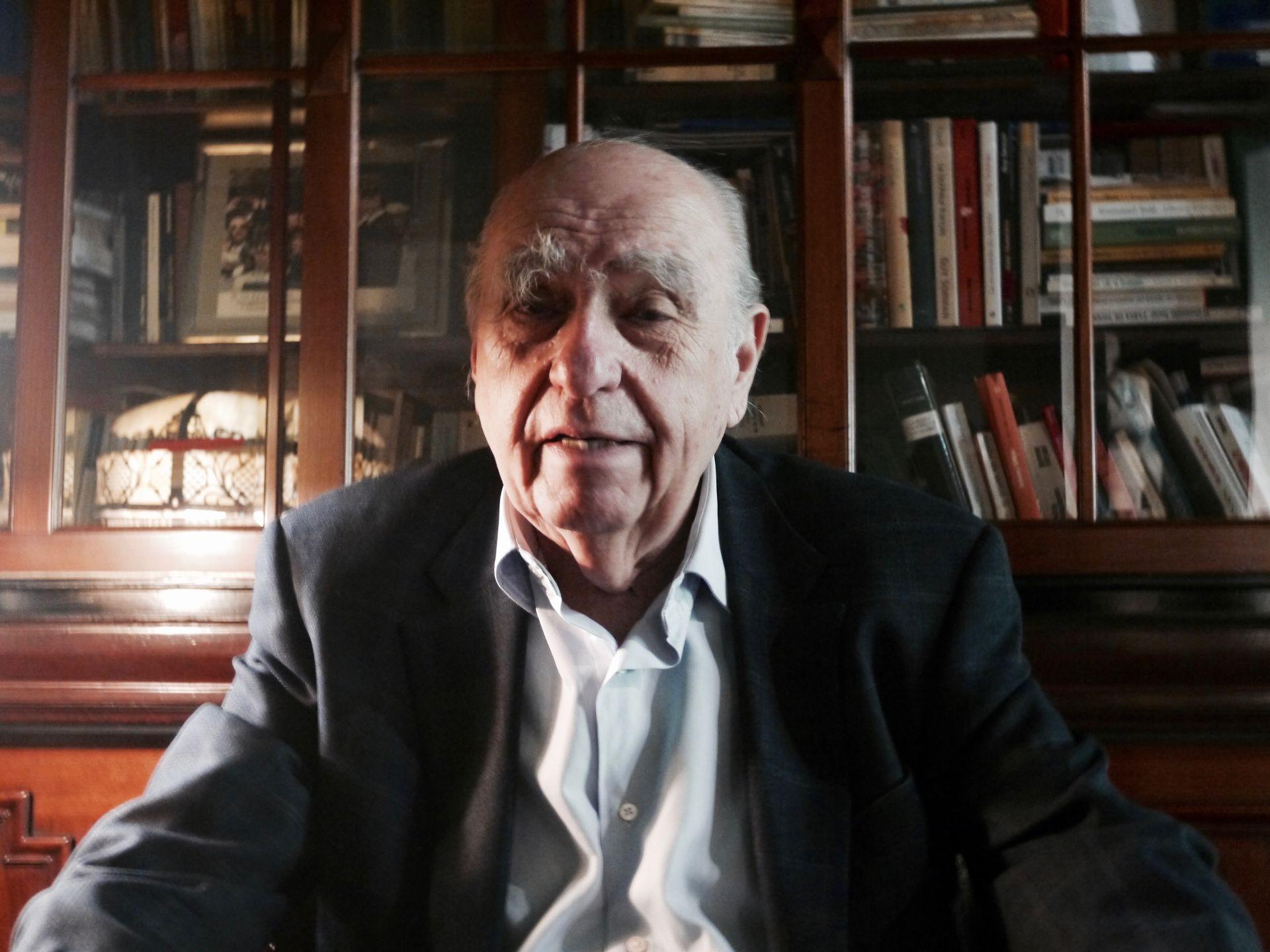 Julio María Sanguinetti, były prezydent Urugwaju
